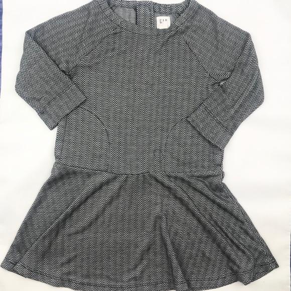🍂SOLD🍂 GAP kids Girls Herringbone Dress XS (4-5)